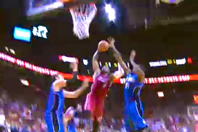Dwyane Wade Dunks Like It's 2006