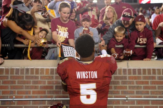 Despite Allegations, FSU's Jameis Winston Still Playing Like Heisman Frontrunner