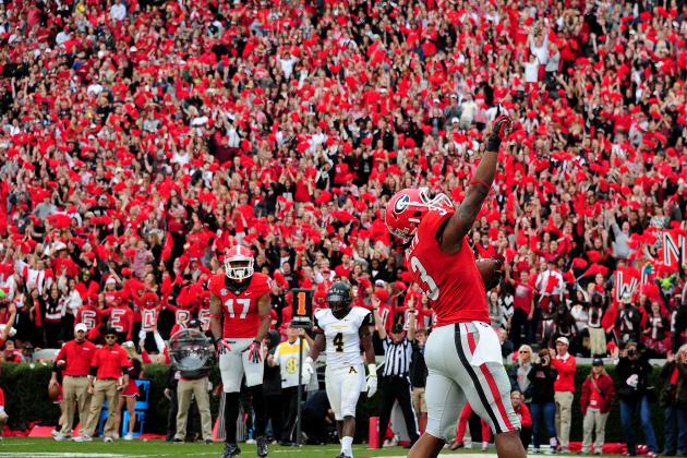 Georgia Football: Is Mark Richt Expanding Todd Gurley's Role on Offense?