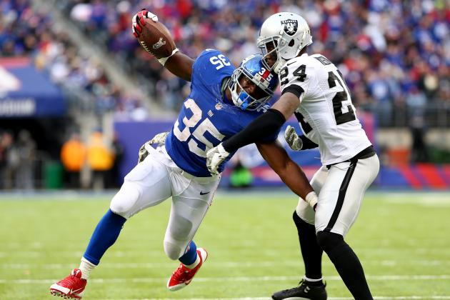 New York Giants: Andre Brown Is the Key to a Division Title