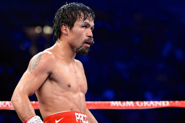 Pacquiao vs. Rios: Live Round-by-Round Results and Highlights
