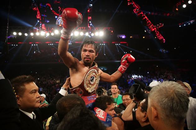 Manny Pacquiao Proves His Time as Elite Fighter Has Yet to Pass