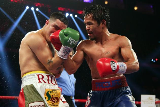 Pacquiao vs. Rios Results: Pac-Man Shows He's Back with Dominance over Bam Bam