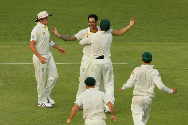 Australia vs. England Test Series 2013: Day 4 Scorecard and Recap from Brisbane