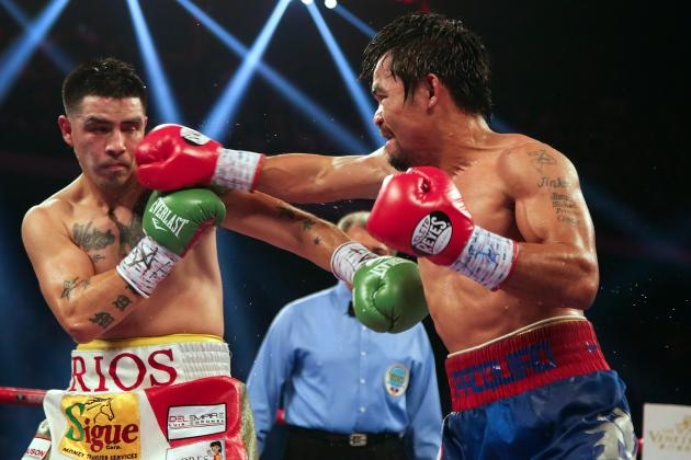 Pacquiao vs. Rios Round by Round: Full Recap and Review of Prize Fight