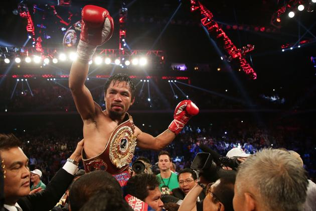 Manny Pacquiao Is Ready for a Mega-Fight Against Floyd Mayweather