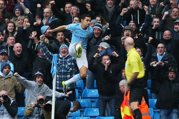 GIFs: Navas Scores in 13 Seconds and All Goals from Manchester City vs Tottenham