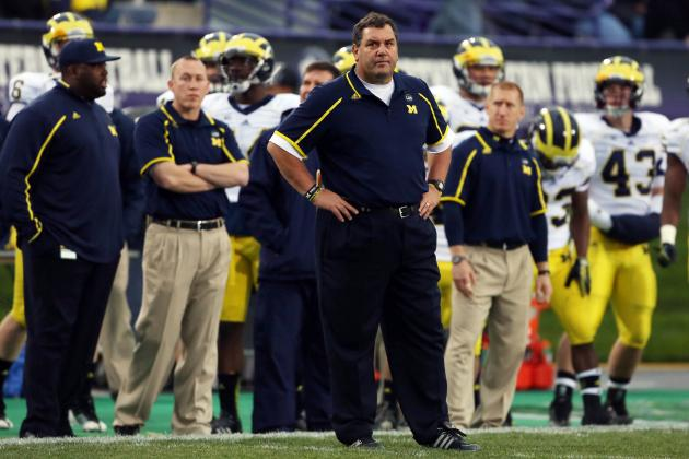 Fire Brady Hoke? He'll Have to Walk Back to San Diego If He Can't Fix This Mess