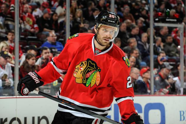 Chicago Blackhawks: Michal Handzus Is Set to Return—Where Does He Fit?