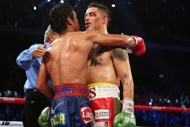 Pacquiao vs. Rios: Crushing Loss Will Not Derail Bam Bam's Career