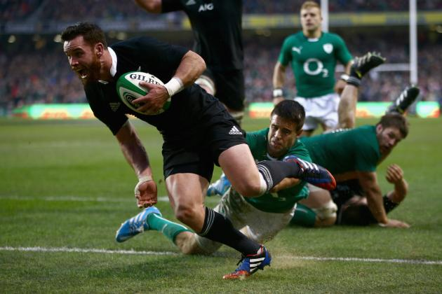 Ireland vs. New Zealand Rugby 2013: Score and Recap from Autumn International