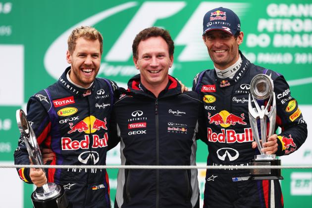 Brazilian F1 Grand Prix 2013 Results: Reaction, Standings, Post-Race Review