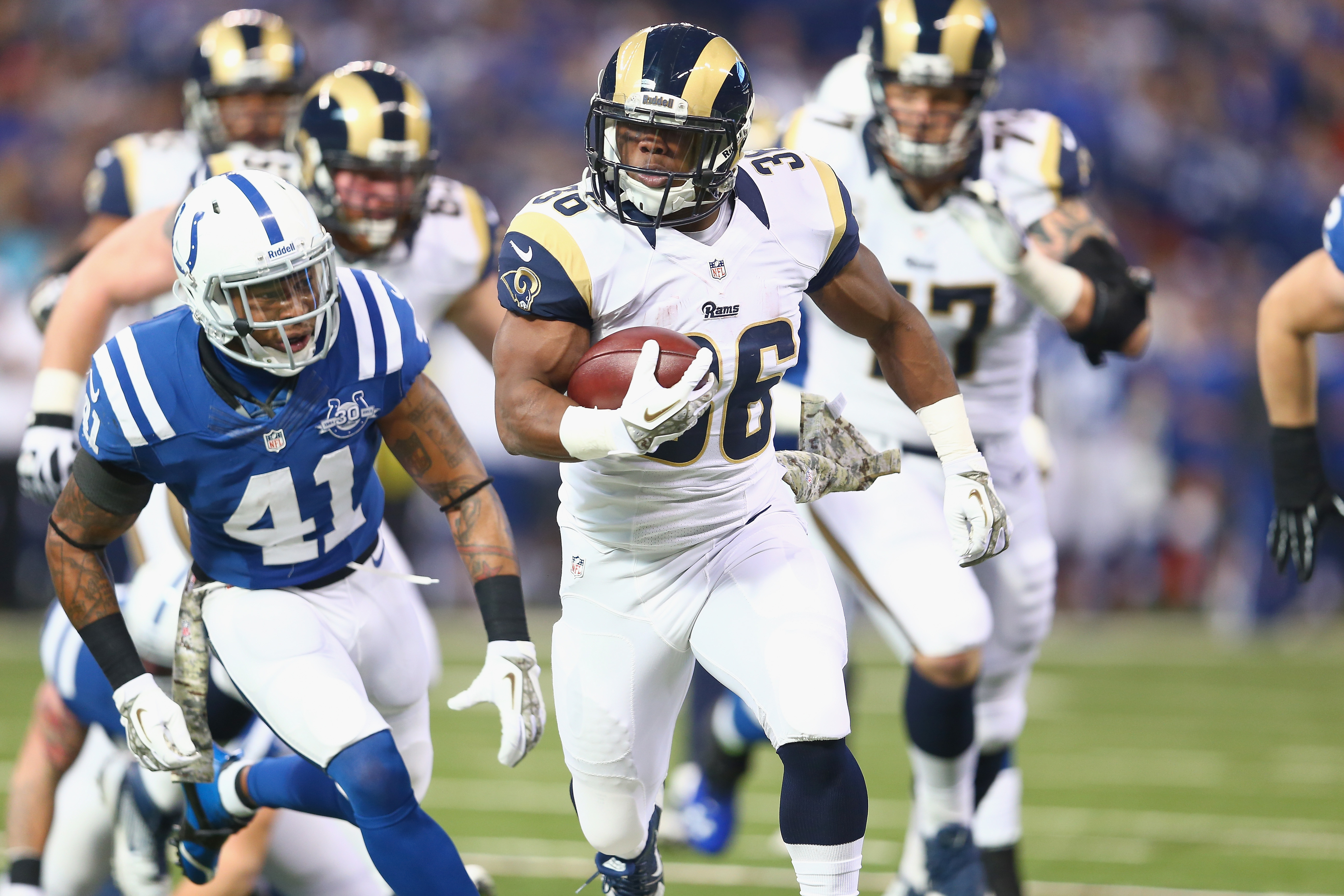 Jerseys NFL Cheap - Benny Cunningham's Instant Fantasy Reaction After Zac Stacy's ...