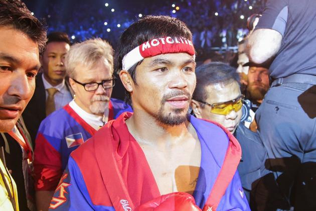 Pacquiao: I'm Willing to Fight Mayweather