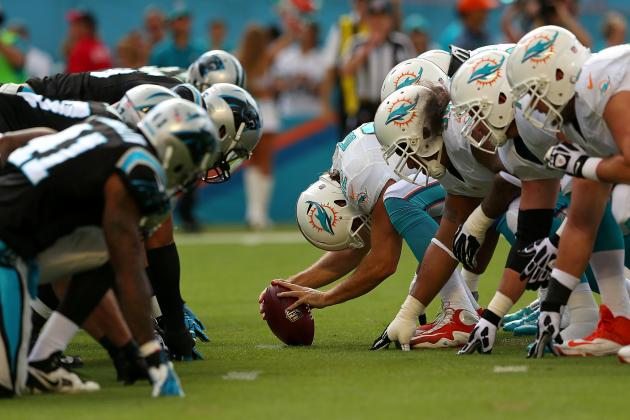 Carolina Panthers vs. Miami Dolphins: Live Grades and Analysis for Miami