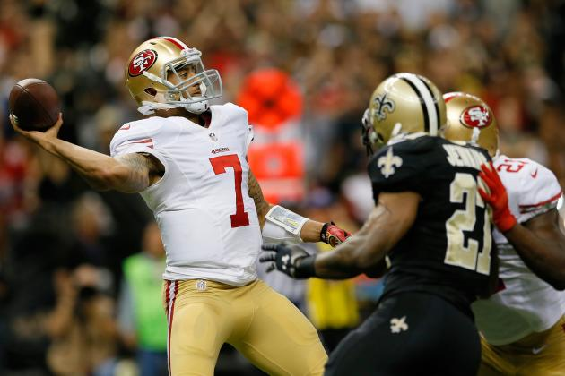 San Francisco 49ers' Quarterback Problems with Colin Kaepernick