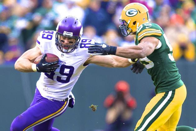 Vikings vs. Packers: Week 12 NFC North Clash Finishes in 26-26 Tie
