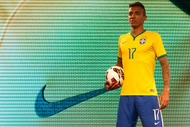 Nike Kick-off Shirt War with New Brazil Kit