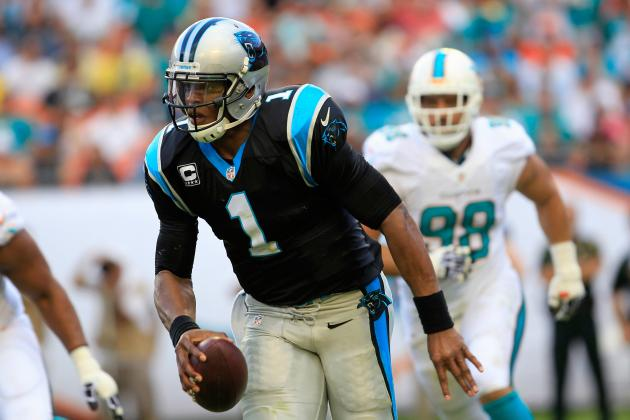 Panthers Winning Streak Extended to 7 with Win over the Dolphins
