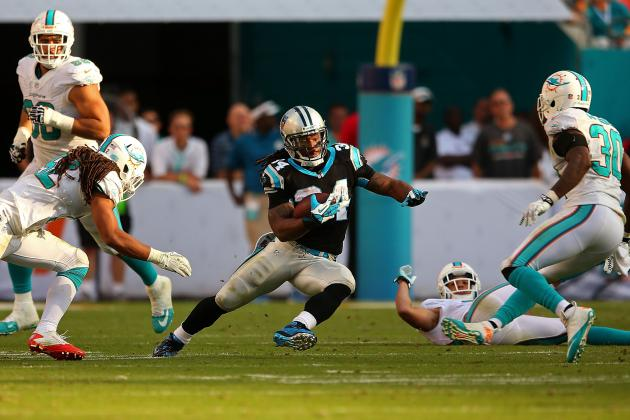 Dolphins Can't Run Ball, Can't Stop Run vs. Panthers
