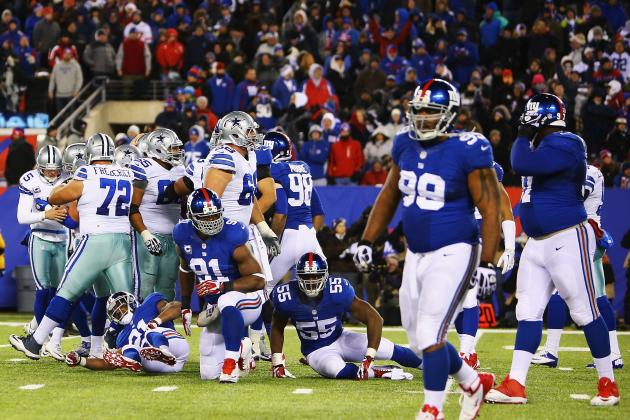 NY Giants Lose to Dallas Cowboys on Last-Second Field Goal