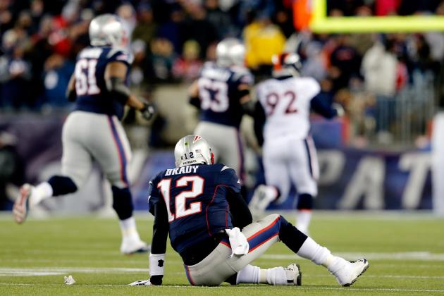 New England Patriots' First 3 Drives Against Denver Broncos End in Fumbles