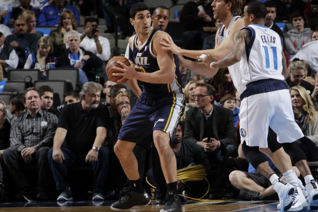 Enes Kanter Injury: Updates on Jazz Center's Ankle, Likely Return Date