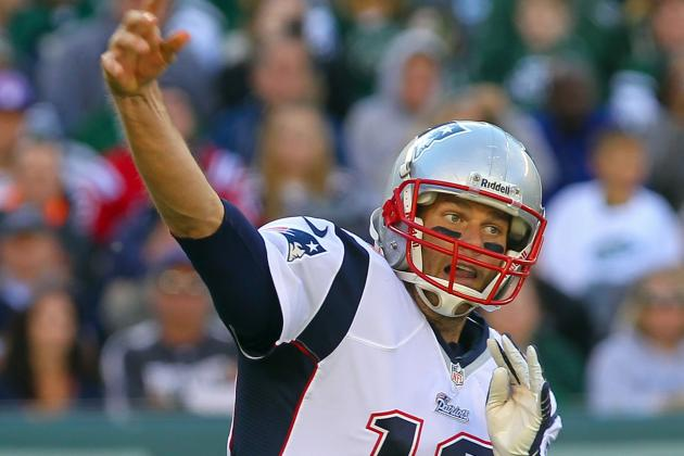 Brady Becomes 5th QB to Reach 350 Passing TDs