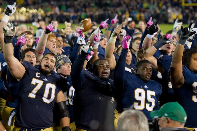 Fighting Irish Offensive Line Depth Key to Present and Future