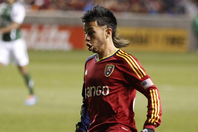 Colombian Midfielder Velasquez Perseveres with Real Salt Lake