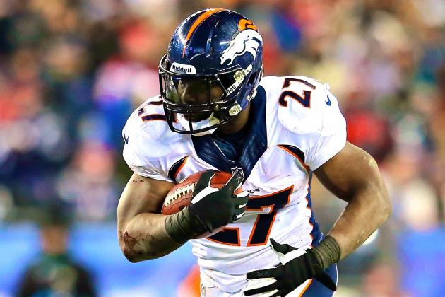 Knowshon Moreno Injury: Updates on Broncos RB's Ankle