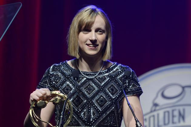 Lochte, Ledecky Honored at Golden Goggles