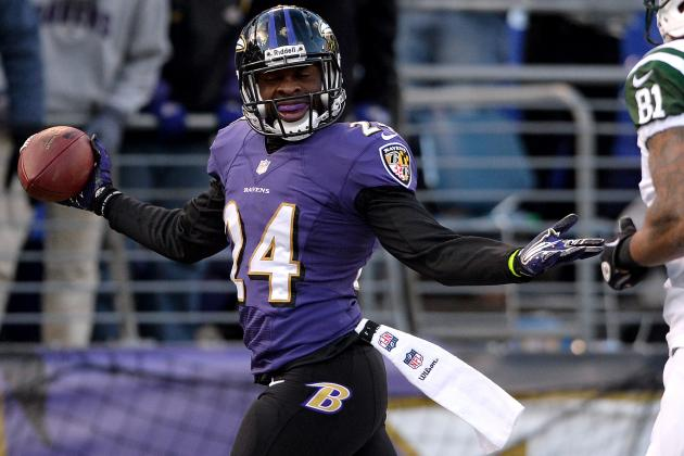 Ravens Cornerback Corey Graham Gets Two Interceptions in Win