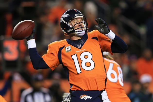 2013 Fantasy Football Quarterback Rankings: NFL Week 13