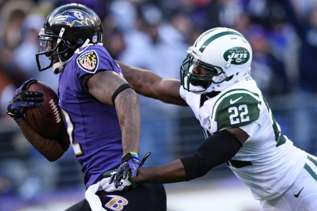 Speedy WR Jacoby Jones Finally Breaks Loose for the Ravens