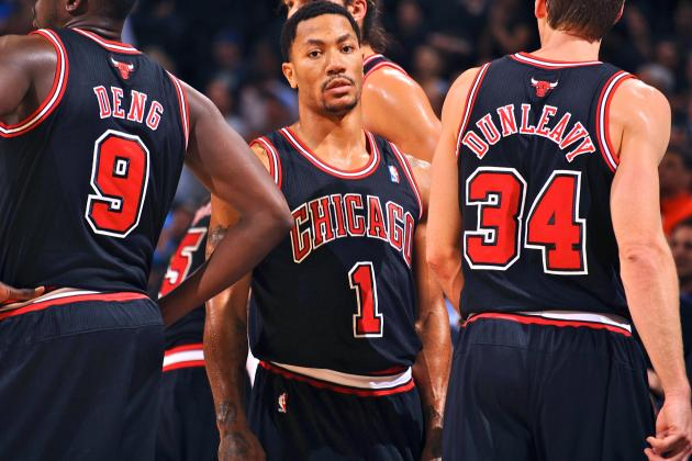 Derrick Rose Ruled Out for Remainder of Season with Torn Meniscus