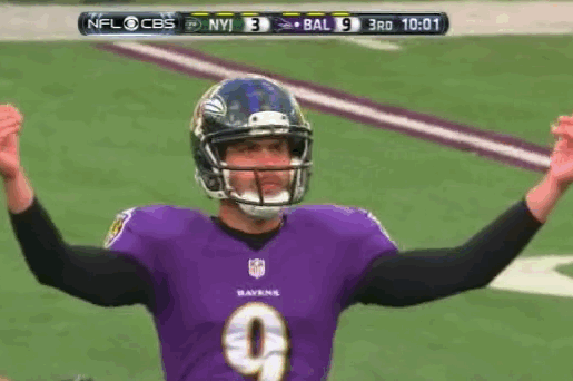 Baltimore Ravens Kicker Justin Tucker Is the King of Swag