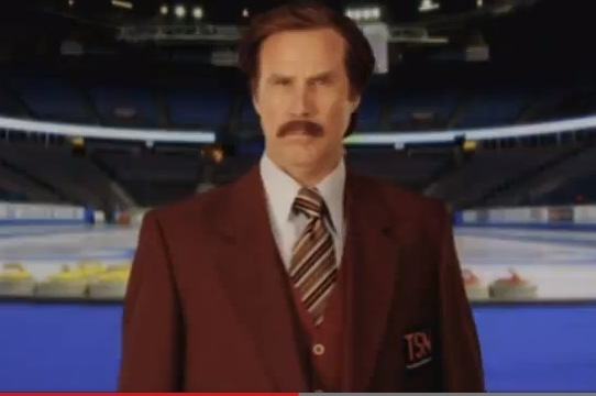 Ron Burgundy's Coming to the Olympics