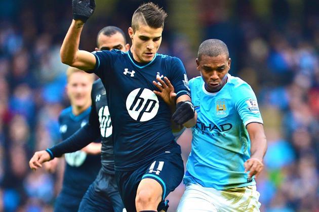 Premier League Scouting Report: Fernandinho vs. Tottenham Hotspur