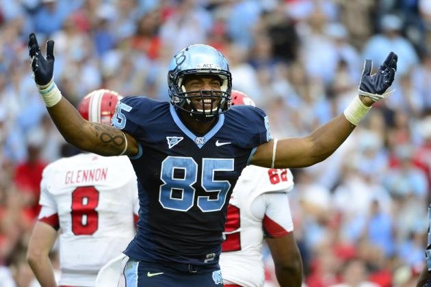 UNC TE Eric Ebron Declares Early for 2014 NFL Draft