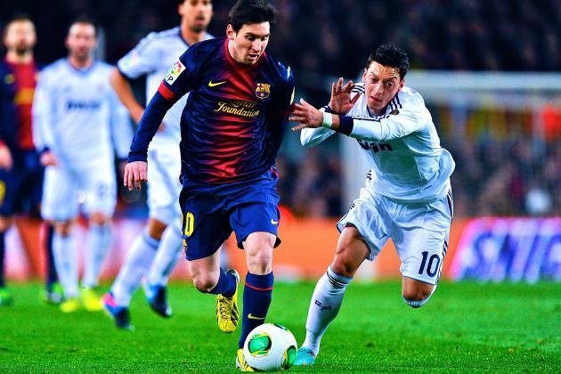 Lionel Messi Admits Huge Admiration for Robin van Persie and Mesut Ozil