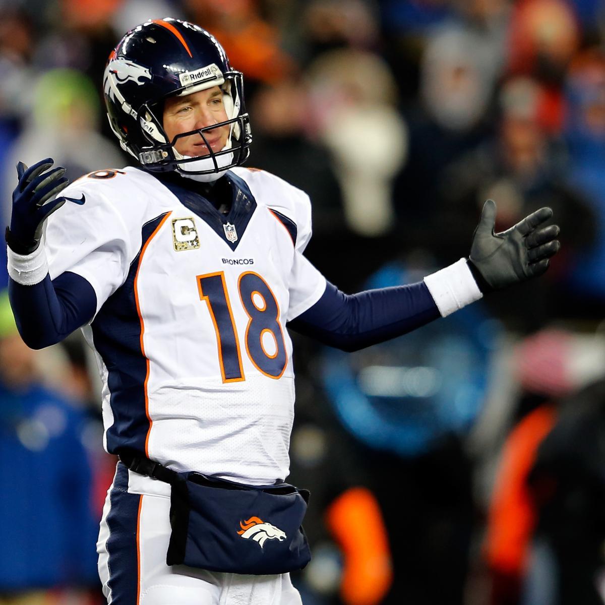The Latest Denver Broncos News Bleacher Report: Denver Broncos V New England Patriots: Full Roster Report