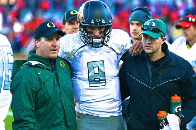 Marcus Mariota Injury: Updates on Oregon QB's Head and Recovery