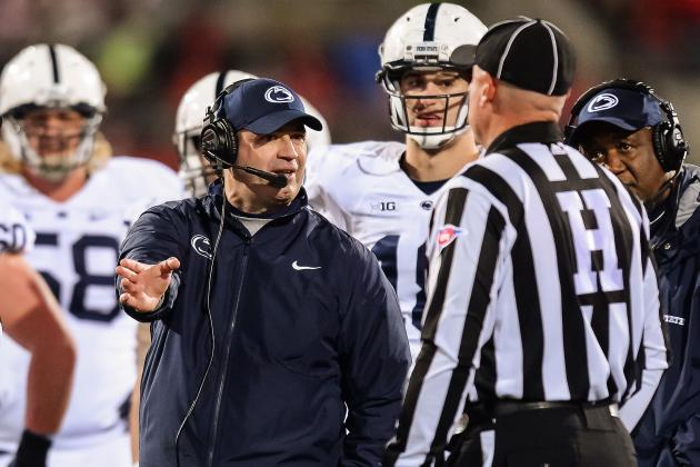 Penn State Coach Bill O'Brien Believes Eight-Team Playoff...