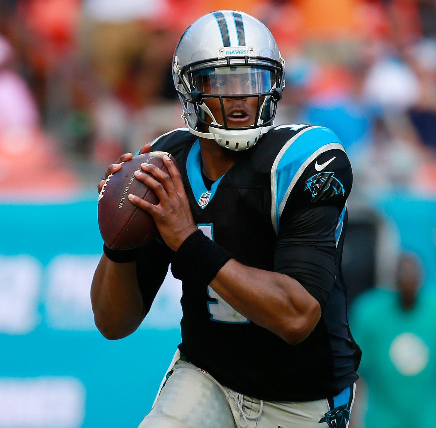 Cam Newtons first Patriots impression, was engaging