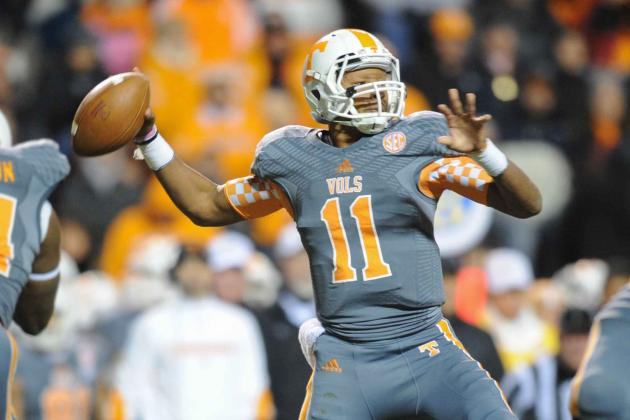 Tennessee Football: Does Butch Jones Have Anything to Build on for 2014?