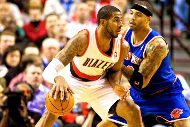 New York Knicks vs. Portland Trail Blazers: Live Score and Analysis