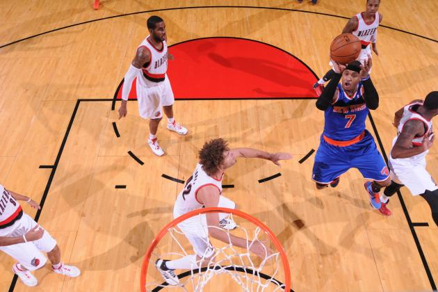 Carmelo Anthony Can't Save Hapless NY Knicks