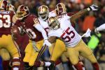 49ers' LB Brooks: It's Obvious RGIII Shouldn't Be Playing