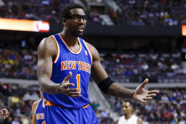 Amar'e Stoudemire Has Never Been More Frustrated with New York Knicks